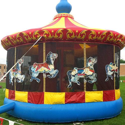 Carousel Horse Bounce House