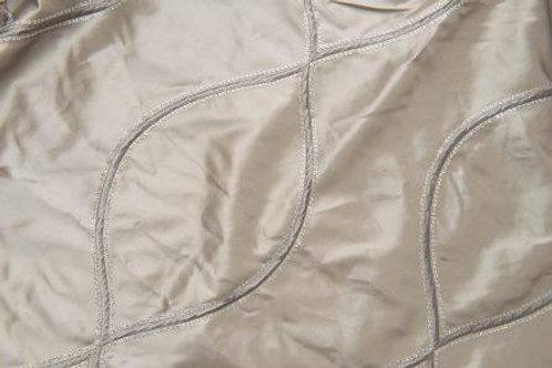 Helix Taffeta Silver Linen