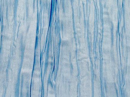 Crinkle Light Blue Linens