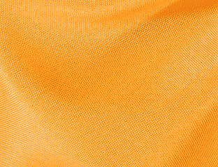 Solid Poly Neon Tangerine Linen