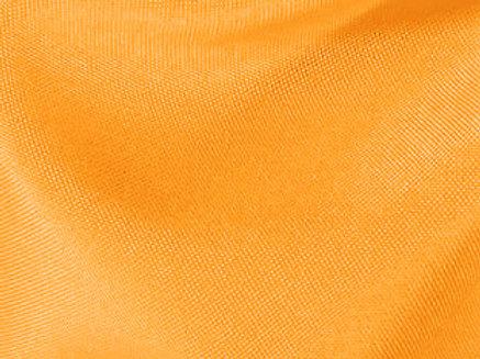 Solid Poly Neon Orange Linen