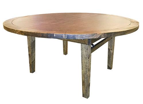 Round Farmhouse Table