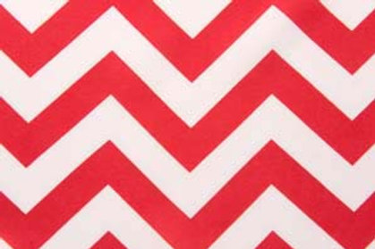 Chevron Red Table Runner