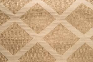 Sedona Wheat Diamond Burlap Linen