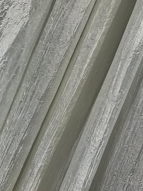 Iridescent Crush Ivory Specialty Drape Panel 12'