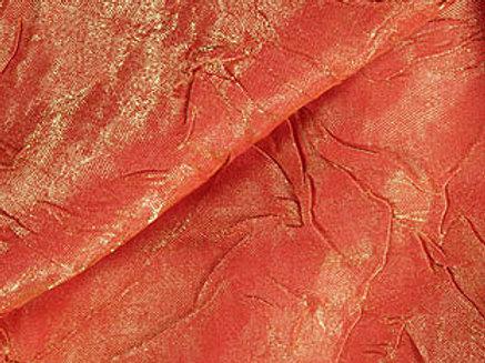 Iridescent Crush Orange Linen