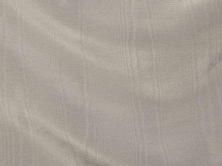 Bengaline Moire Silver Linen