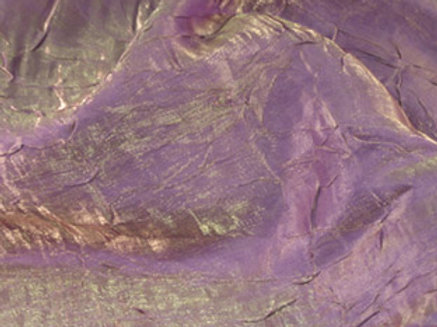 Iridescent Crush Claret Linen