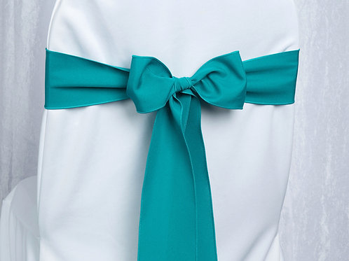 Poly Teal Chair Sash