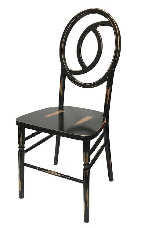 Infinity Black Wash Chair