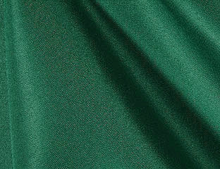 Solid Poly Hunter Green Linen