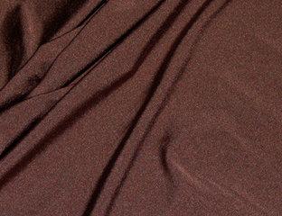 Spandex Shiny Chocolate Linens