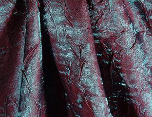 Iridescent Crush Raspberry Linen
