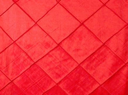 Pintuck Taffeta Valentine Linens