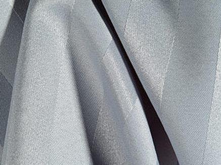 Poly Stripe Grey Linen