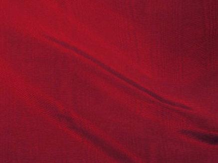Bengaline Moire Burgundy Linen