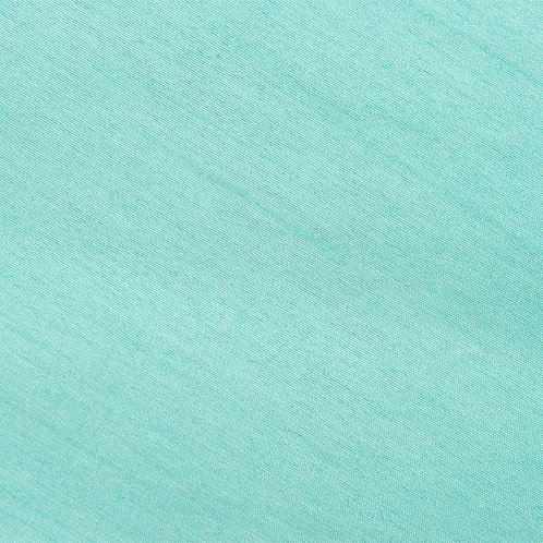 Supernova Shantung Tiffany Blue Linen
