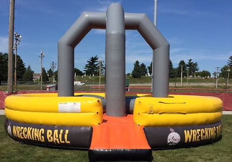 Wrecking Ball Interactive Inflatable