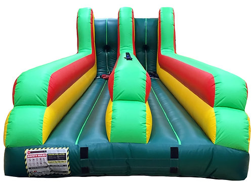 Double Lane Bungee Run Interactive Inflatable