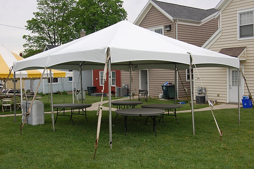 20 x 20 Frame Tent Package