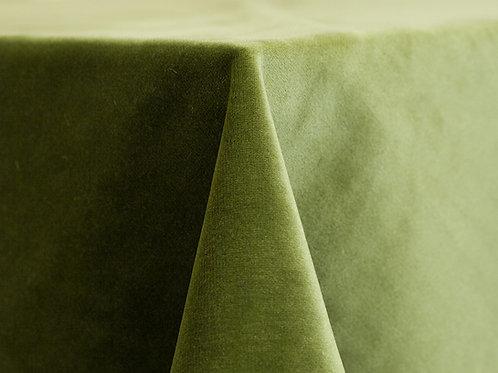 Velvet Leaf Green Linens