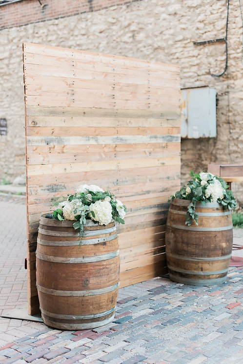 Rustic Pallet Backdrop