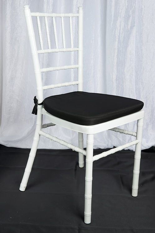 Black Chair Pad