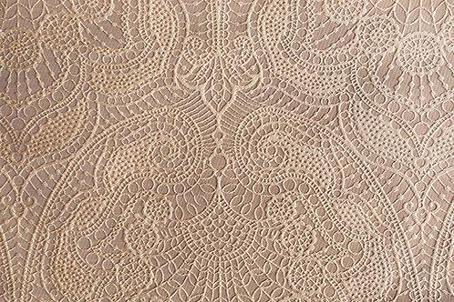 Ellington Jacquard Paisley Dune Linen