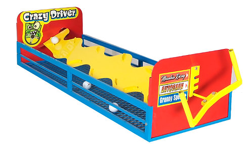 Crazy Driver Golf Ball Game