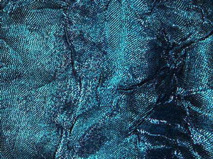 Iridescent Crush Turquoise Linen