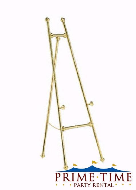 Floor Standing Brass Easel