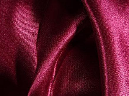 Satin Burgundy Linens
