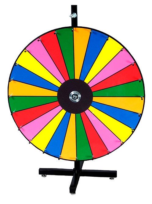 Tabletop Color Prize Wheel