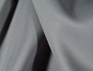 Solid Poly Charcoal Linen