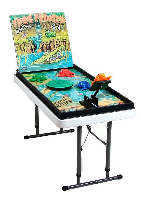 Frog Flinger Carnival Game