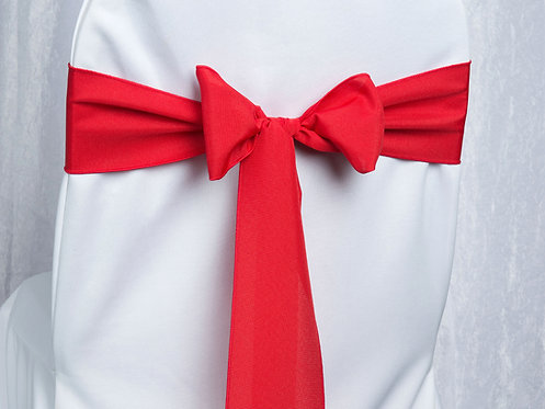 Poly Red Chair Sash