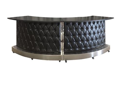 Modern Leather Tufted Bar