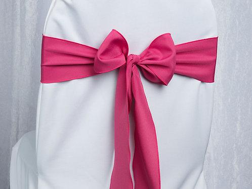 Poly Hot Pink Chair Sash