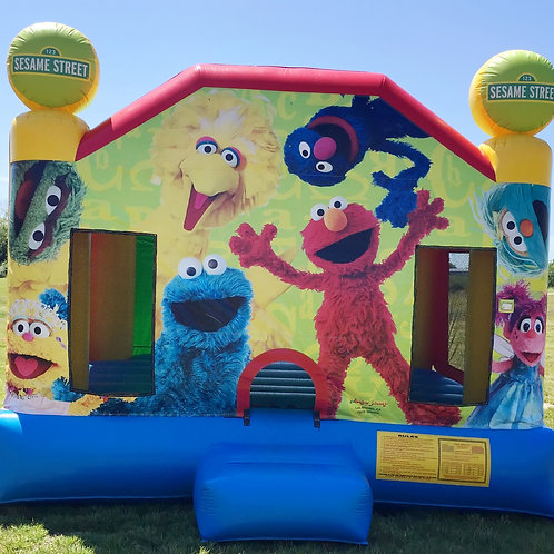 Sesame Street Elmo Bounce House