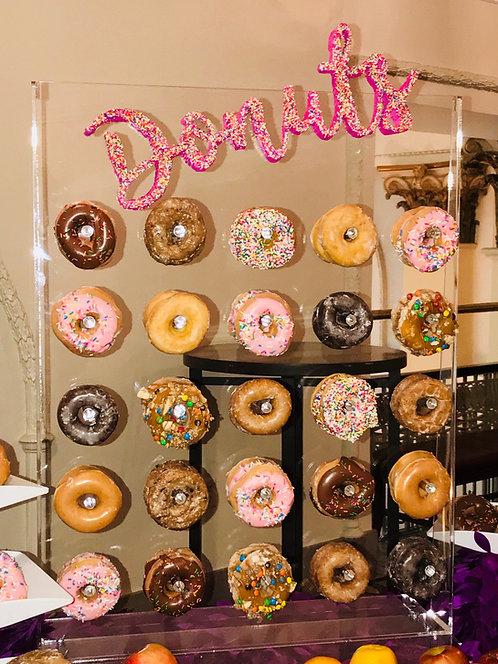 Clear Acrylic Donut Wall