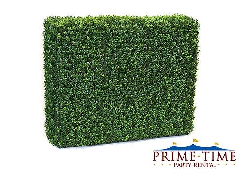 Faux Boxwood Greenery Hedge