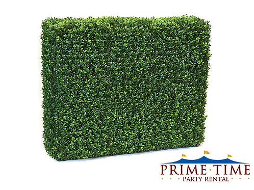 Faux Boxwood Greenery Hedge