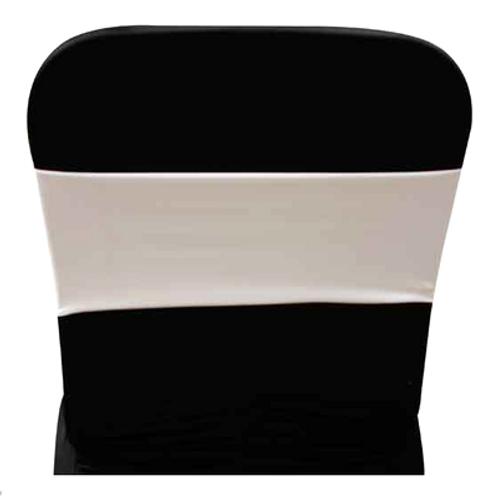 Spandex White Chair Band