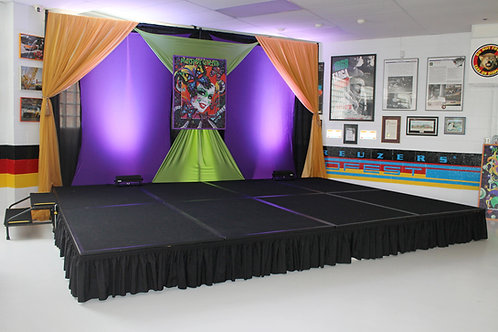 """Rolling Portable Stage 6x8"""""""