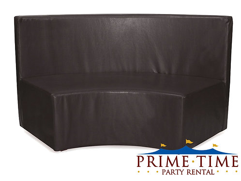 Modern In Curve Black Couch