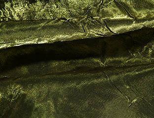Iridescent Crush Moss Linen