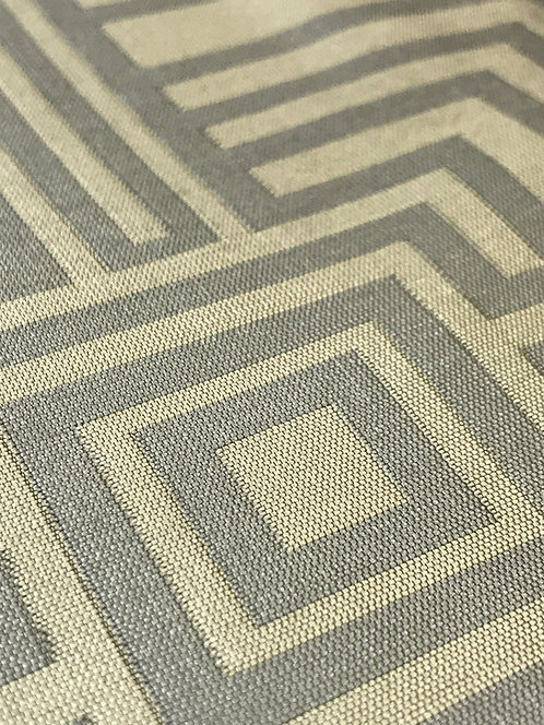 Element Sqaure Platinum Geometric Linen
