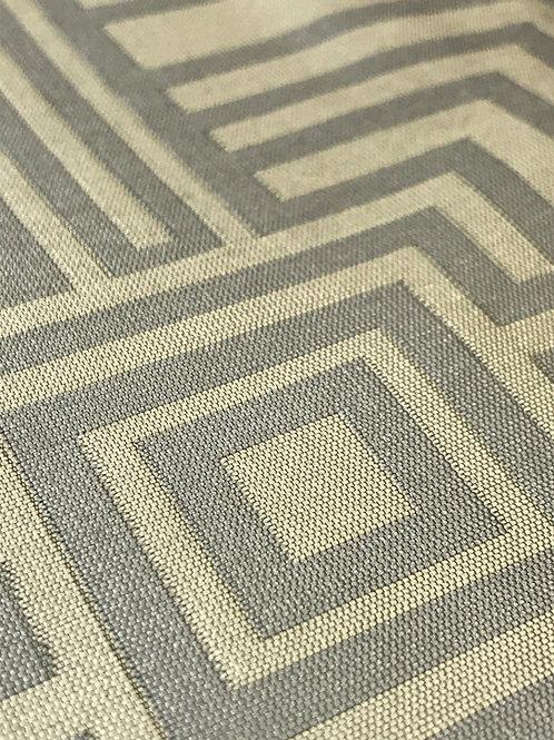 Element Sqaure Platinum Geometric Linen