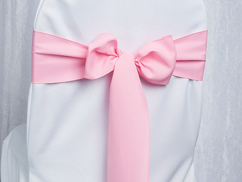 Poly Pink Chair Sash