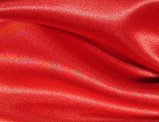 Satin Red Linens